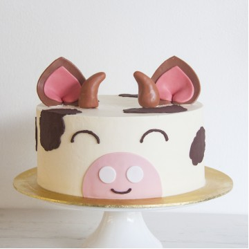 Animal Cake - Curly the Cow