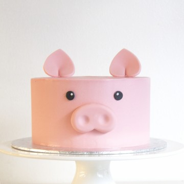 Animal Cake - Penny the Pig